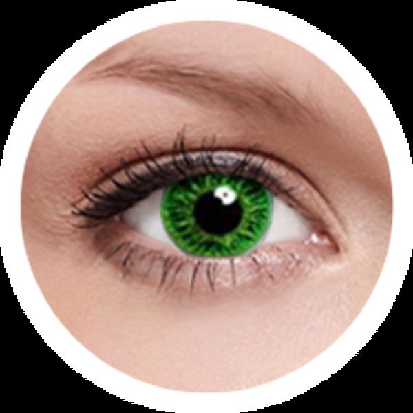 FreshKon - Cool Green (2 šošovky mesačné) - nedioptrické - exp.05/2016