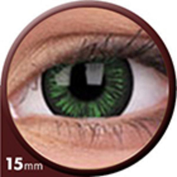 Phantasee Big Eyes - Lustrous Green (2 šošovky trojmesačné) - nedioptrické - doprodej