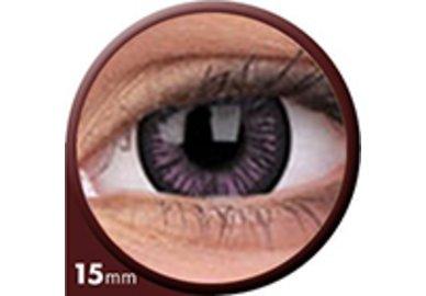 Phantasee Big Eyes - Passionate Purple (2 šošovky trojmesačné) - nedioptrické - dopredaj