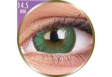 Phantasee Big Eyes - Paris Green (2 šošovky mesačné) - nedioptrické