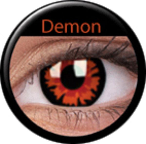 ColourVue Crazy šošovky - Demon-Volturi (2 ks jednodenné) - nedioptrické