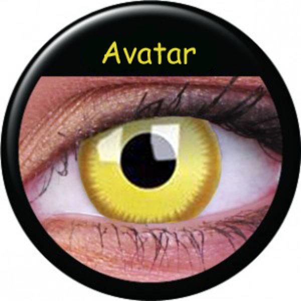 ColourVue Crazy šošovky - Avatar (2 ks trojmesačné) - dioptrické - dopredaj